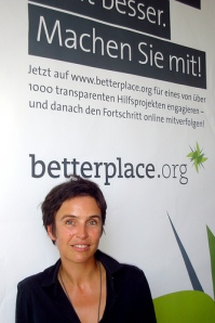 Joana at Betterplace HQ, Berlin