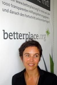Joana Breidenbach at betterplace.org HQ