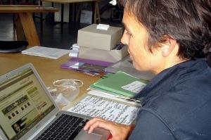Joana at work