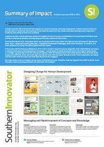 SI Impact Summary 2015