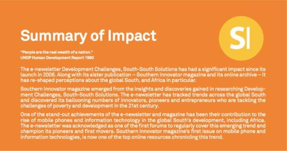 SI Impact Summary 2012 top_mini
