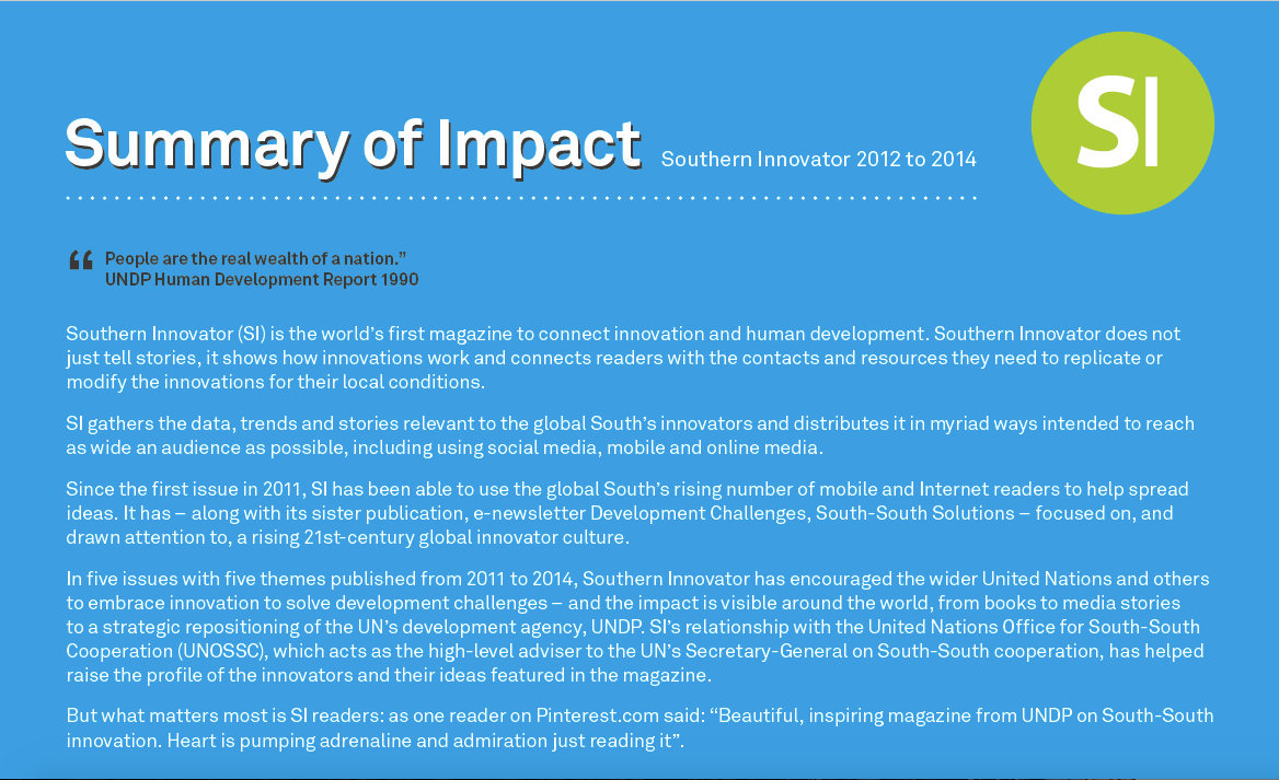 SI Impact Summary top_mini