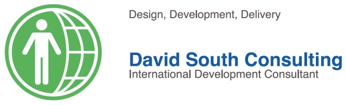 David South Consulting business card