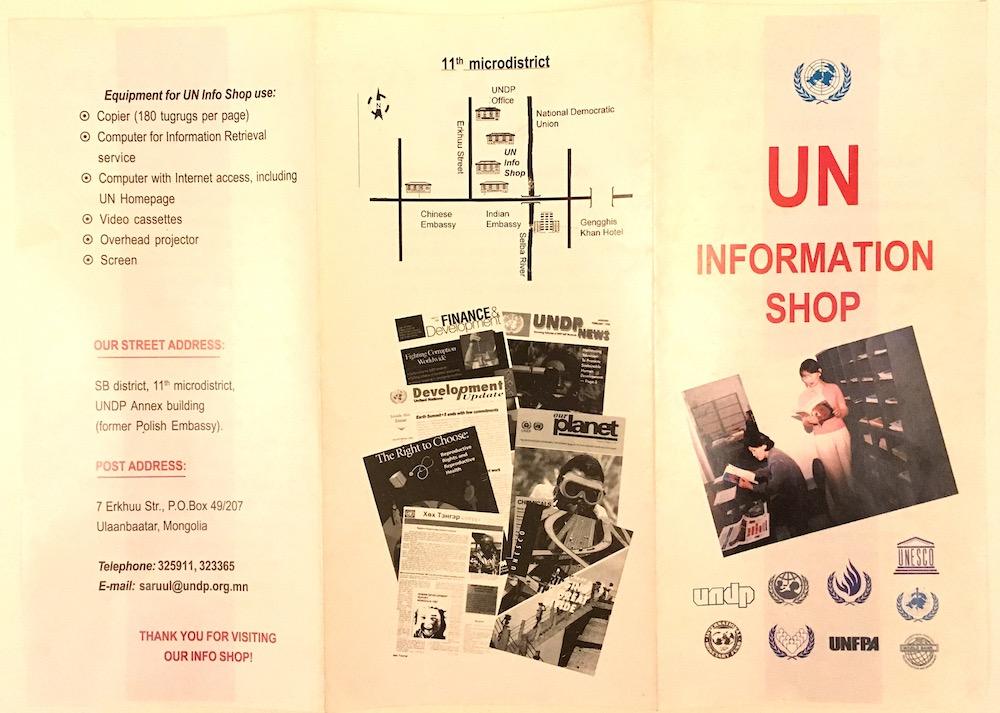 UN Info Shop cover